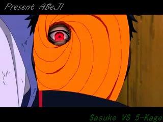 Present ABeJl . Sasuke vs 5-kage . (Naruto)
